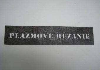 CNC delenie plazmou